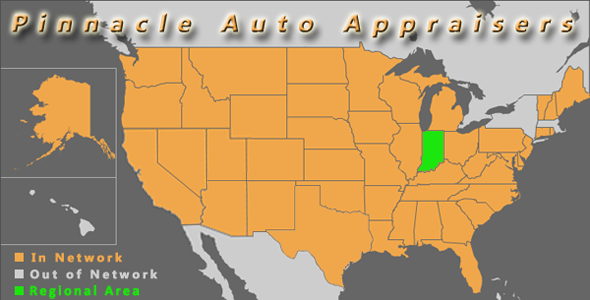 map indianapolis ndiana pinnacle auto appraiser appraisal dimished value